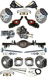 NEW SUSPENSION & WILWOOD BRAKE SET,CURRIE REAR END,CONTROL ARMS,POSI GEAR,697031