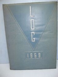 1959 Log, Freehold Regional High School, Freehold, New Jersey Yearbook