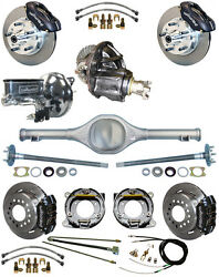 NEW SUSPENSION & WILWOOD BRAKE SET,CURRIE REAR END,POSI-TRAC GEAR,BOOSTER,677011