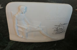 Lladro Collector Society Plaque Sign Don Quixote Store Display Porcelain Figure
