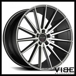 20 Gianelle Verdi Machined Concave Wheels Rims Fits Ford Mustang Gt Gt500
