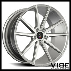 20 Koko Kuture Le Mans Silver Concave Wheels Rims Fits Ford Mustang Gt