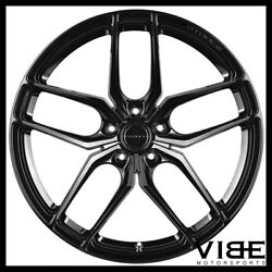 19 Stance Sf03 Gloss Black Forged Concave Wheels Rims Fits Nissan 370z