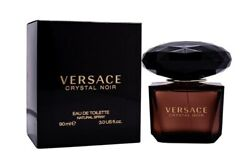 Versace Crystal Noir By Gianni Versace 3.0 Oz Edt Perfume For Women New In Box