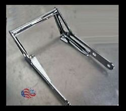 Chrome Rear Grab Bar Honda 70 Atc Laser Cut Steel And Tig Welded With Whip Mnt