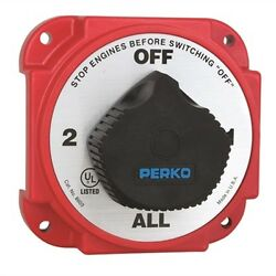 Perko Heavy Duty Battery Selector Switch With Afd 542538 8603 Dp Md