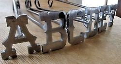 🎇a To Z Custom 26 Branding Irons,bbq, Wood,leather Western Saddles,ag,art