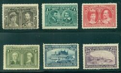 Canada 96-101 1/2andcent To 10andcent Complete Lower Vals Of Set Og Lh Vf Scott 523.00