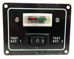 Pactrade Marine Boat Aluminum Plate Voltmeter Battery Test Switch 12 Vdc