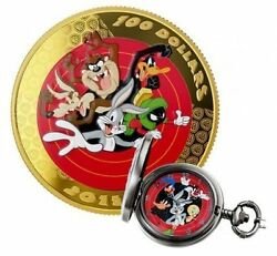 2015 Canada 100 14-karat Gold Coin. Looney Tunesandtrade Bugs Bunny And Friends