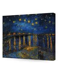 Decorarts Starry Night Over The Rhone Vincent Van Gogh Reproductions Wall Art