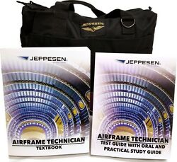 Jeppesen Js302128 Airframe Training Kit Airframe Text Book And Airframe Test Guide