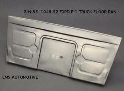 Ford Pickup Truck / Panel Delivery Front Floor Pan Board 1948-1952 85 Ems