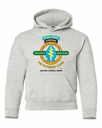 Special Forces Airborne De Oppresso Liber Battle And Campaign Hoodie W/pockets