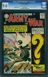 Our Army At War 151 Cgc 9.0 Dc 1965 1st Ememy Ace Sgt Rock From 83 F7 184 Cm