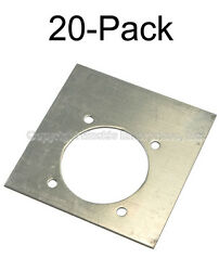 Backing Plate For 6000 Lb. Recessed D-ring 20-pack