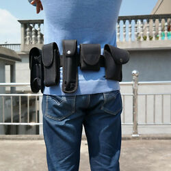 Police Officer Security Guard Duty Waist Belt Security Equipment System