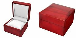 Cherrywood Watch Gift Box With Pillow Bracelet Boxes 1 2 6 12 24 Pcs