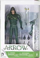 Dc Collectibles - Arrow Action Figure In Season 3 Outfit - From Cw Tv Series