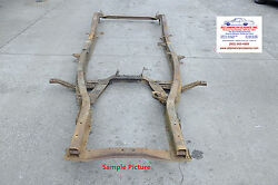 1949 1950 1951 1952 Chevrolet Frame Straight Solid And Rust Free