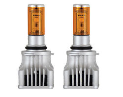 Piaa 9006 Hb4 Performance Led Bulb Ion Yellow 2800k Twin Pack 17501