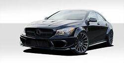 For 14-15 Mercedes Cla Class Black Series Look Wide Body Kit 16 Pc 112211