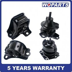 Trans Engine Motor Mount Kit Fit For 98-02 Honda Accord 2.3l Auto Trans G030