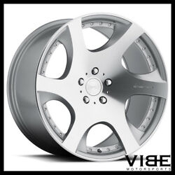 20 Mrr Vp3 Silver Concave Wheels Rims Fits Ford Mustang Gt