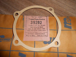 Nos Mccord Usa Made Gasket Water Pump To Block 1963 Chevy 6 292 39292