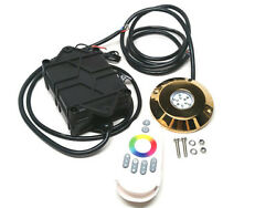 Pactrade Marine Ss316 Rgb Led Underwater Light With Remote Controller
