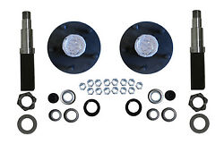 Build Your Own Trailer Axle Kit 3500 Square Spindle 5 X 5.5 Idler Hub Camper Rv