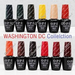 OPI Soak-Off GelColor WASHINGTON DC 2016 Fall Winter Collection  PICK Any Gel