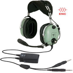 Brand New David Clark H10-13x General Aviation Anr Enc Headset For Pilots