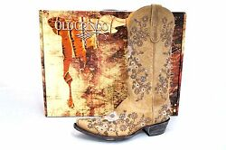 Ladies Old Gringo Bone Shelby 13 Western Boots L2208-8 New In Box