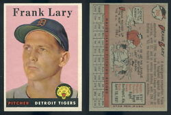 47091 1958 Topps 245 Frank Lary Rc Tigers-nm