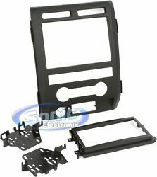 Metra 95-5822b Double Din Installation Dash Kit For 2009-2010 Ford F-150