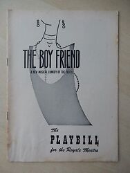 August 29th 1955 - Royale Theater Program - The Boy Friend - Julie Andrews