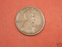 1918 S Lincoln Cent Penny - Au/au+ With Full Wheat Nice Brown Color