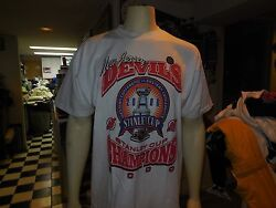 2000 New Jersey Devils Stanley Cup Vintage Tee Shirt Made By True Fan