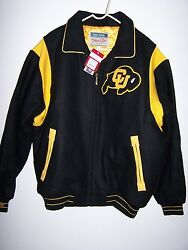 Mitchell And Ness Colorado Buffaloes Wool Jacket New With Tags Sz Xl Retail 400