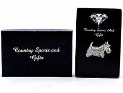 Scottish Terrier English Pewter Lapel Pin Badge Hand Made - Gift Box Scottie Dog