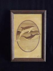 Hudson River Nelson Art Inlay Marquetry Dolphins Pictures Within Description