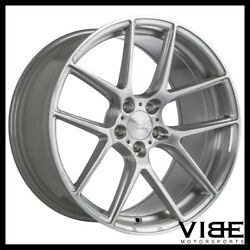 19 Ace Aff02 Flow Form Silver Concave Wheels Rims Fits Honda Accord Coupe