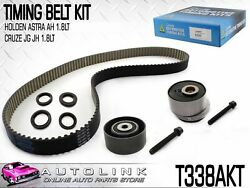 TIMING BELT KIT TO SUIT HOLDEN BARINA TM 1.6L 4CYL F16D4 112011 - ON T338AKT