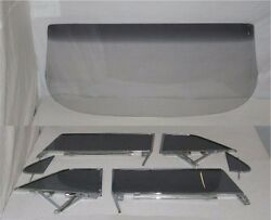 Glass 1962 Chevy Pontiac 2dr Hardtop Windshield Side Assembly Grey | Exchange