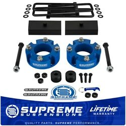 3 Front And 1 Rear Lift Kit For 2007-2020 Toyota Tundra 4wd With Diff Drop