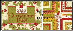 Christmas Past Quilt Pattern + Rare Charm Pack By Minick And Simpson Moda Fabric