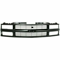 New Grille For Chevrolet C2500 Gm1200237 1994 To 2002
