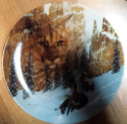 Canyon Of The Cat Limited Edition Collector Plate