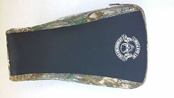 Yamaha Grizzly Camo Seat Cover With Gun Law Logo 350 400 450 660 2000 Up